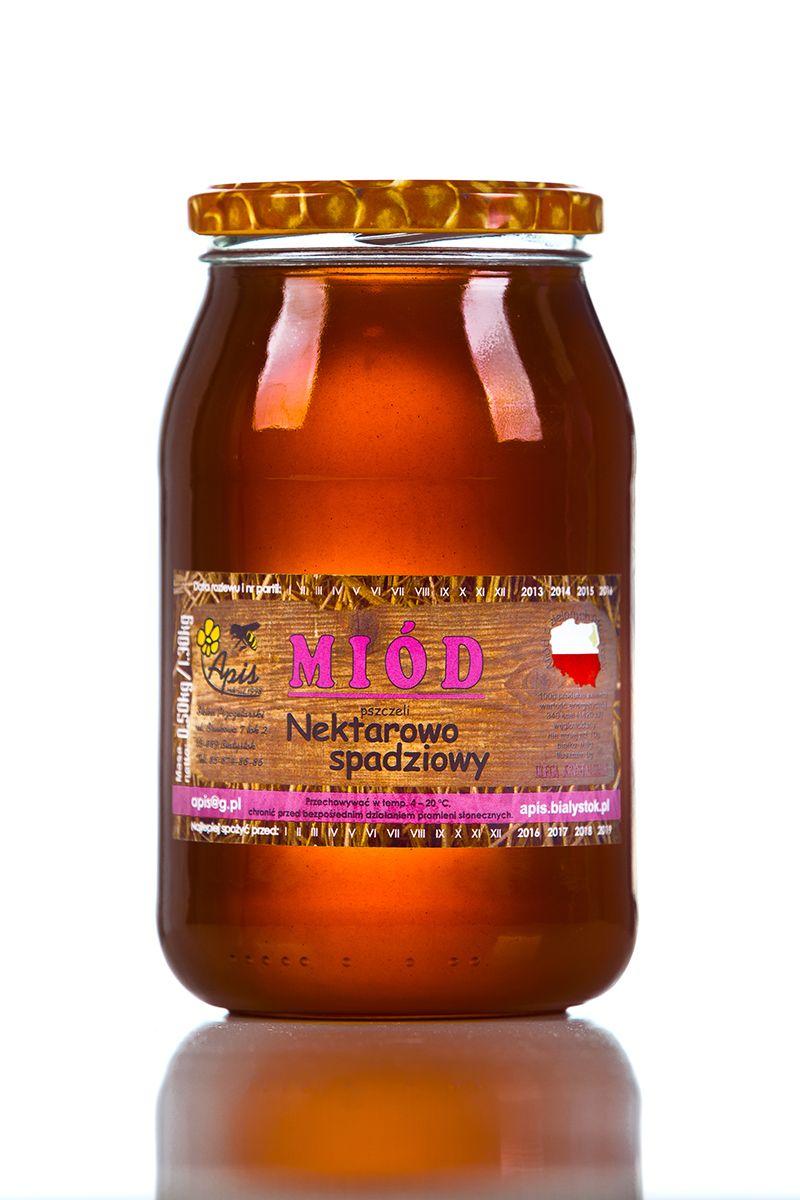Miód nektarowo spadziowy