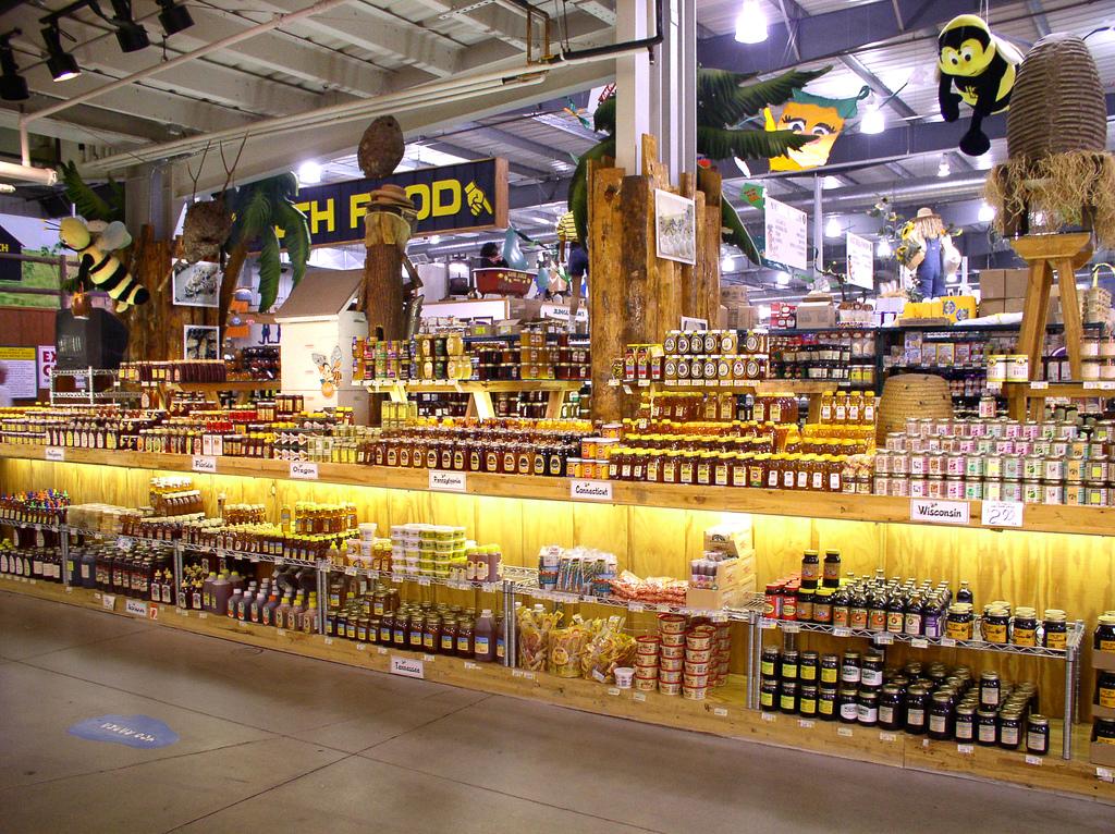 Szeroki wachlarz gatunków miodu na rynku